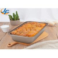 Quality 450 Gram Aluminum Alloy Bakeware Loaf Pan , Large Capacity Bread Pan Pullman for sale