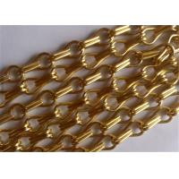 China Decorative Hanging Aluminum Wire Chain Link Curtain for Doors ,Fly Window Screen on sale