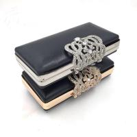Buy cheap Handbags Accessories Custom Rectangle Gold Iron Metal Purse Frame Box Clutch Bag from wholesalers