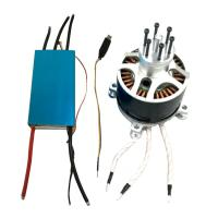 China 120V 500A ESC Electronic Speed Controller With 154120 Motor For RC UAV Paramotor on sale