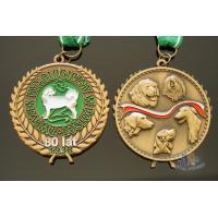 Buy cheap Bespoke animal 3D model medailles, No MOQ, Exemplary medal, just the way you from wholesalers