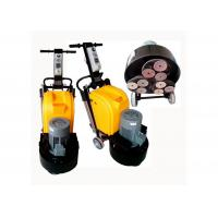 9 Heads Concrete Manual Floor Polisher / Scrubber 220V 50HZ With Planetary System Manufactures