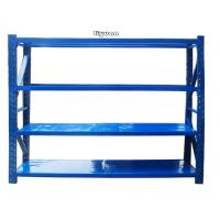 Medium Duty Warehouse Storage Racking Metal Shelving Easy Installation Stable Manufactures