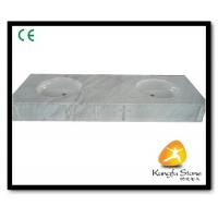 Xiamen Kungfu Stone Ltd supply White Marble Bathroom Countertops In High quality Manufactures