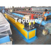 Roof Ceiling Batten Cold Roll Forming Machine With 14 Forming Stations Manufactures