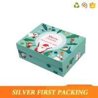 China Silver First Custom printing made small cardboard paper box with lids on sale