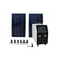1200W AC Solar Power System , Off Grid Residential Solar Power Systems Manufactures