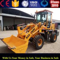China compact front end loaders small bucket wheel loader price wholesale