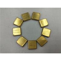 Drawing Progressive Deep Drawing Die Four Cavities Square Fine Layout Brass Manufactures