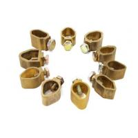 Electrical Cable Tray , Brass Electrical Connector Wiring Groud Rod Clamps Manufactures