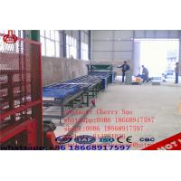 Quality Lightweight Eps Cement Wall Panel Making Machine Full Automatic Demouling Type for sale