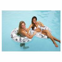 Pool Candy Benjamin's Hundred Dollar Bills Pool Tube Inflatable Ring Safety Raft Manufactures