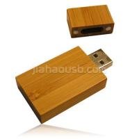 Wooden Style New Square USB Flash Drive Style Yew Square Manufactures