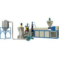 Ldpe , Hdpe Hard Scrap Plastic Recycling Machine, Water Ring Hot Cutting Pelletizing Line Manufactures
