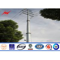 14m africa bitumen electrical power pole for power transmission Manufactures