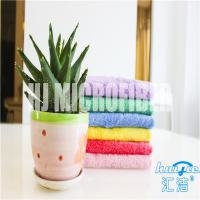 China Super soft piped 80% polyester and 20% polyamide 40*60cm square coral fleece kitchen cleaning towel wholesale