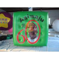 Green Political Advertising Bal, Inflatable Advertisement Helium Cube for Political events Manufactures
