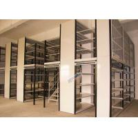 Warehouse Storage Rack Supported Mezzanine Heavy Loading Customized Width ISO9001 Manufactures