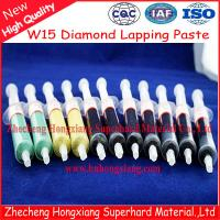 diamond paste polishing Manufactures