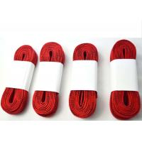 China High Tenacity Waxed Red Skate Laces Roller Skate Shoelaces CE Approved on sale