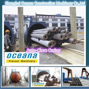 Construction Machine for Concrete Electric Poles Manufactures