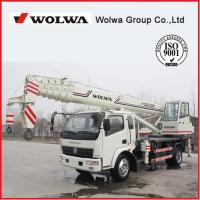 China manufacturer small wheel crane truck mounted crane with telescopic GNQY-C12 Manufactures