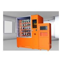 China Cold And Hot Quick Food Vending Machine With Microwave Oven , 24 Hour Shop Service Online on sale