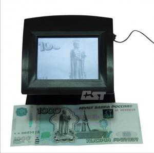 Smart Portable IR / UV fake money detector machine for GBP CAD USD Manufactures
