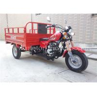 Air Cooling Engine Cargo Motor Tricycle Motorcycle With Steel Plate Chassis / Suspension Manufactures