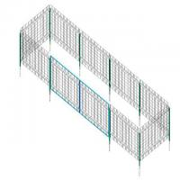 Pre - Assembled Metal Wire Mesh Fence Panels For Safety , Easy Installtion Manufactures