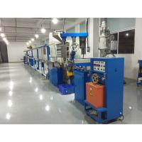 Insulation Wire And Cable Extrusion Machine , Pvc Cable Extruder Machine