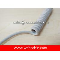 UL20445 Medical Care Curly Cable PUR Sheath Rated 60C 30V Manufactures
