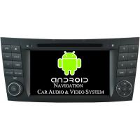 CLS W219 Mercedes Benz Satellite Radio Auto DVD Player 1024 X 600 Pixel 16GB Flash ROM Manufactures