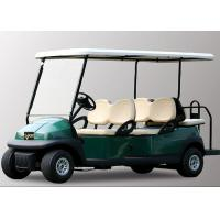48V 6 Seater Electric Golf Cart With Aluminum Chassis For Transportation Manufactures