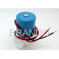 Fast Coupling PP Body Solenoid Operated Valve , Industrial Solenoid Pneumatic Valve Manufactures