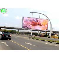 China Custom Advertisement Led Billboards Power Saving , Full Hd Led Panel 6mm on sale