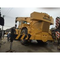 Japan Used Grove Rough Terain Crane 80 Ton RT980 For Sale Manufactures