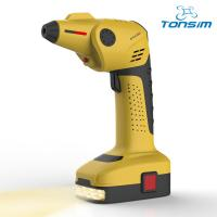 China Handheld automatic portable electric cordless air compressor for car tyre on sale