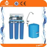China 100 - 200GPD Commercial Water Filter Drinking Water Filtration Systems Auto Flush Type on sale