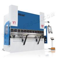 WE67k-160T/3200 cnc press brake with Esa 530 controller for 4mm stainless steel Manufactures