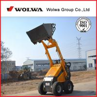 Quality 1.5ton KUBOTA engine skid steer loader different skid steer attachments available for sale