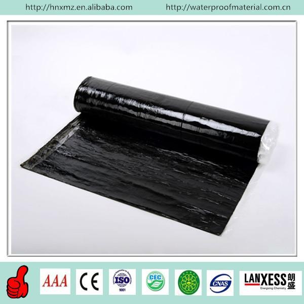 Quality CE standard Self-adhesive modified bitumen waterproof membrane for sale
