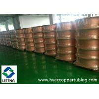 Bright Surface Copper Compression Fittings , ASTM B359 Seamless Copper Pipe Manufactures