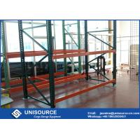 Powder Coated Industrial Pallet Racks Heavy Duty Garage Shelving Corrosion Resistant Manufactures