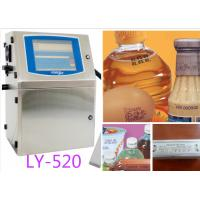 LY-520 bottle code videojet printer expiry date inkjet printer/automatic numbering machine Manufactures