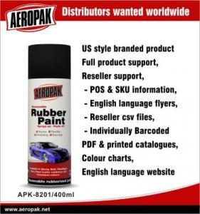 China Auto Aerosol Spray Paints / Rubber Paint Plasti Dip All Purpose Spray Paint on sale