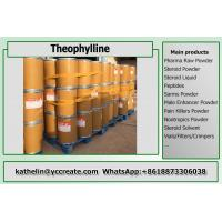 Quality Theophylline Pharmaceutical Raw Materials Methylxanthine For COPD Treatment CAS 58-55-9 for sale
