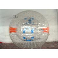 Colorful 0.55mm PVC tarpaulin Inflatable Zorbing Ball Giant Zorb Collision Track Manufactures
