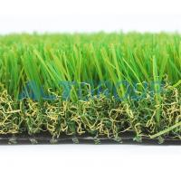 Thick Soft  Pet Friendly Artificial Turf , High Resilience Artificial Grass Mat