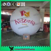 Inflatable Helium Balloons Golden Round , Blank Sphere Ball , Cartoon Character Manufactures
